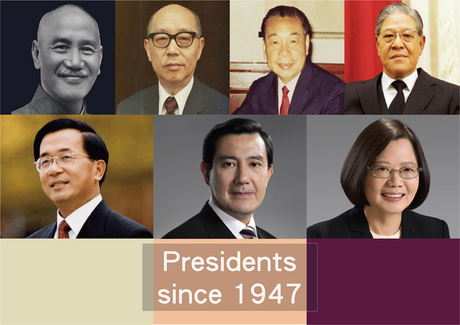 Presidents since 1947