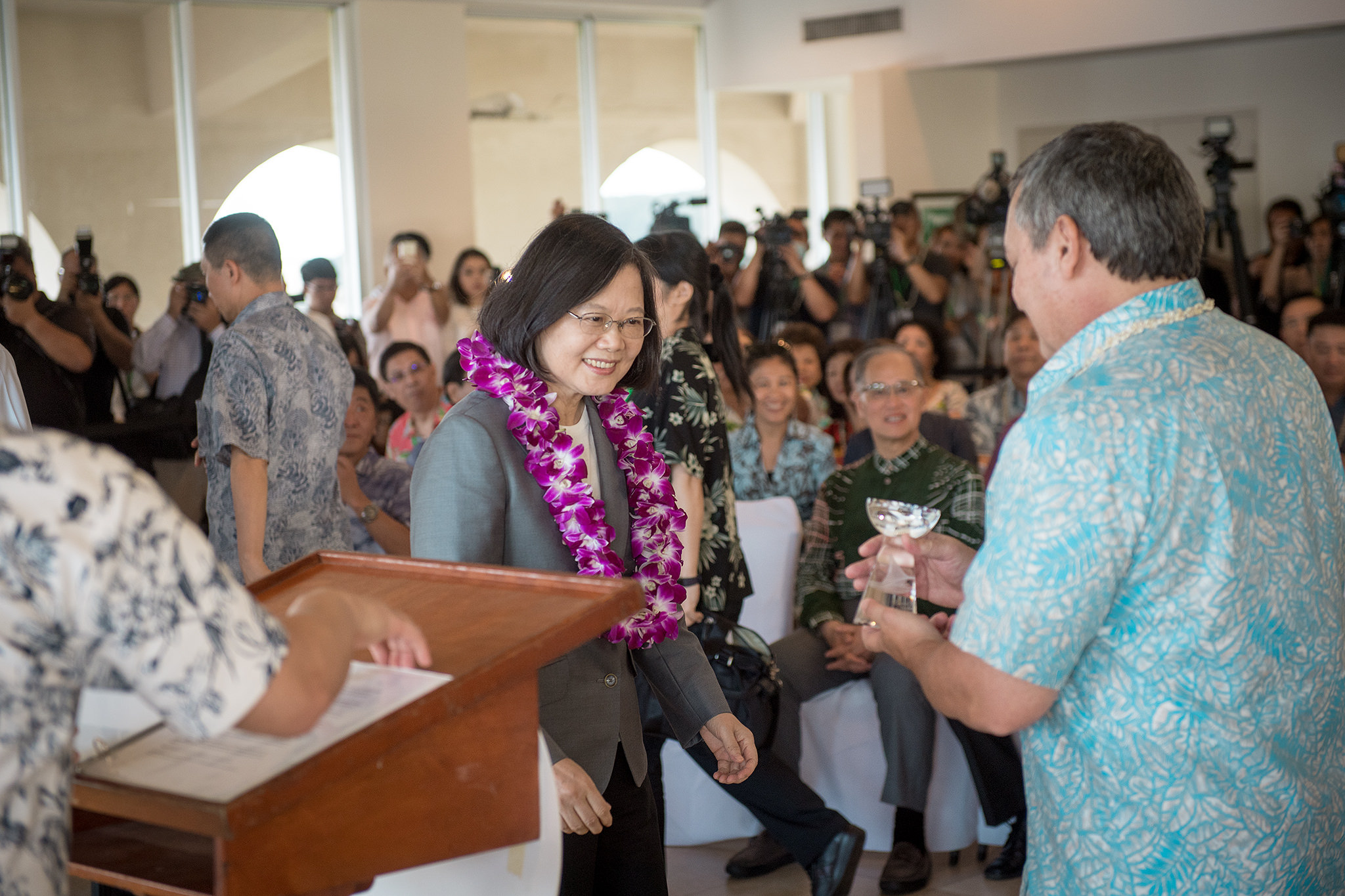 President Tsai's remarks at welcome reception hosted by Office of the Governor of Guam