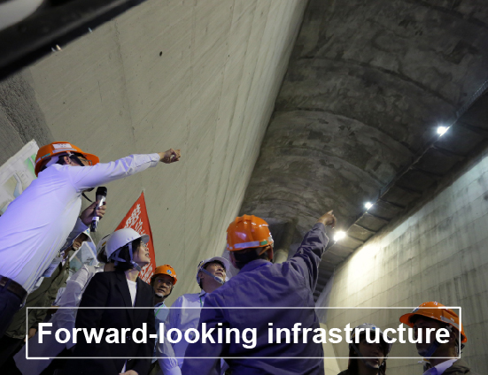 Forward-looking infrastructure