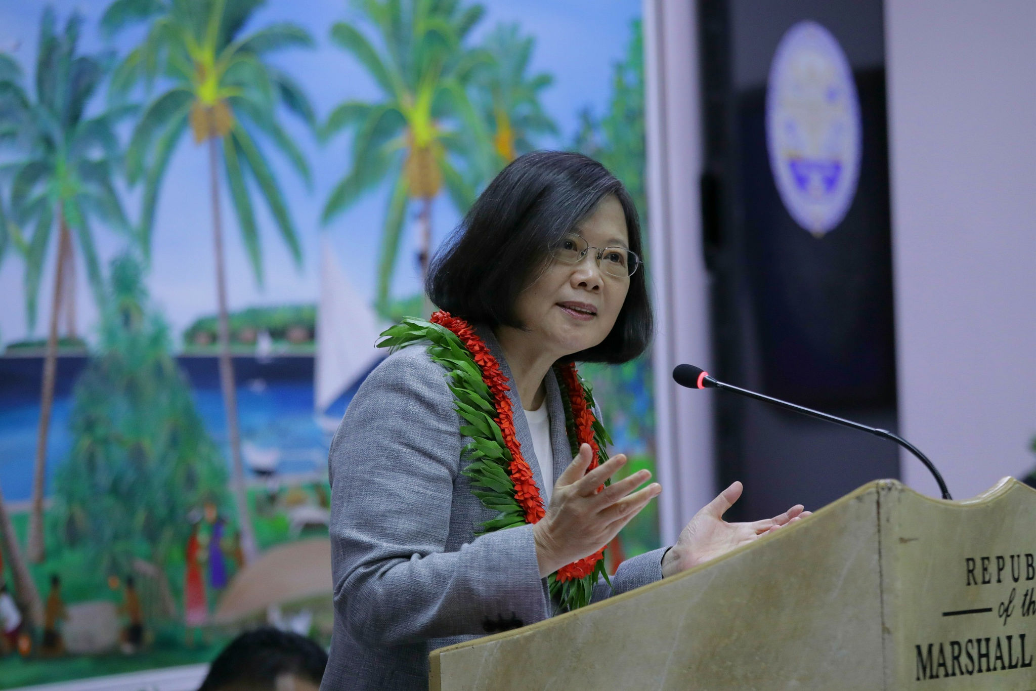 President Tsai's remarks at Marshall Islands parliament