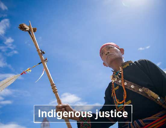 Indigenous justice
