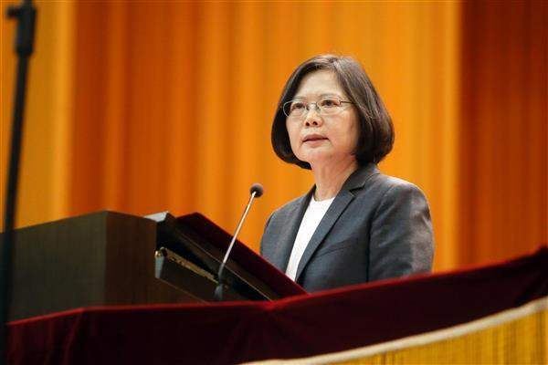 President Tsai delivers remarks at the 2016 joint graduation ceremony of ROC's seven military academies.