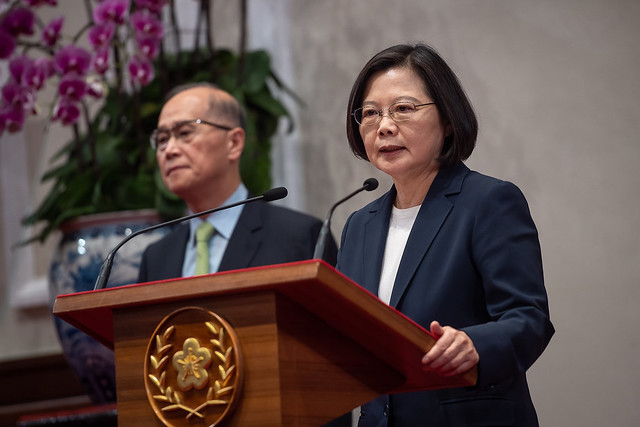 President Tsai issues a major statement on the termination of diplomatic relations with Solomon Islands.