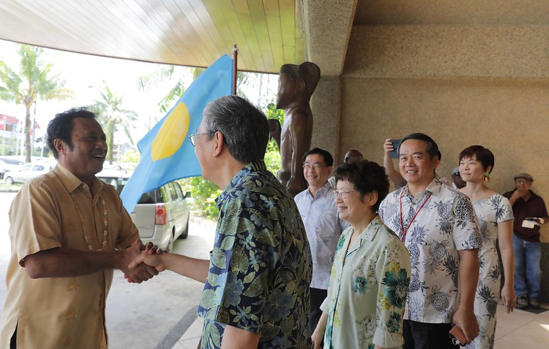 The vice president hosts a luncheon celebrating 20th anniversary of Taiwan-Palau diplomatic relations.