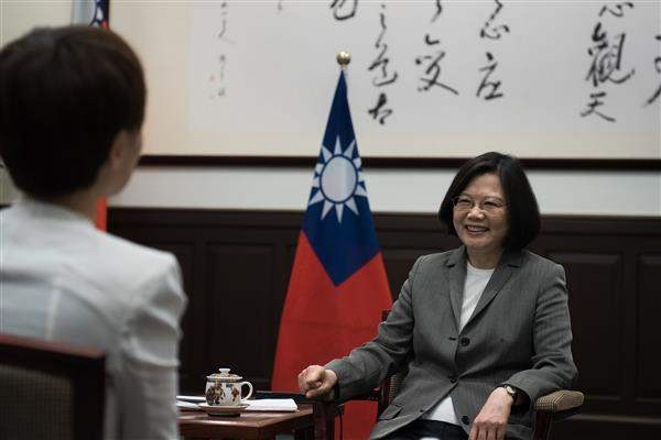 President Tsai interviewed by Reuters