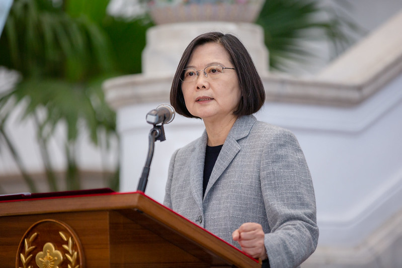 President Tsai Ing-wen states that Taiwan is actively bolstering epidemic prevention cooperation with countries around the world.