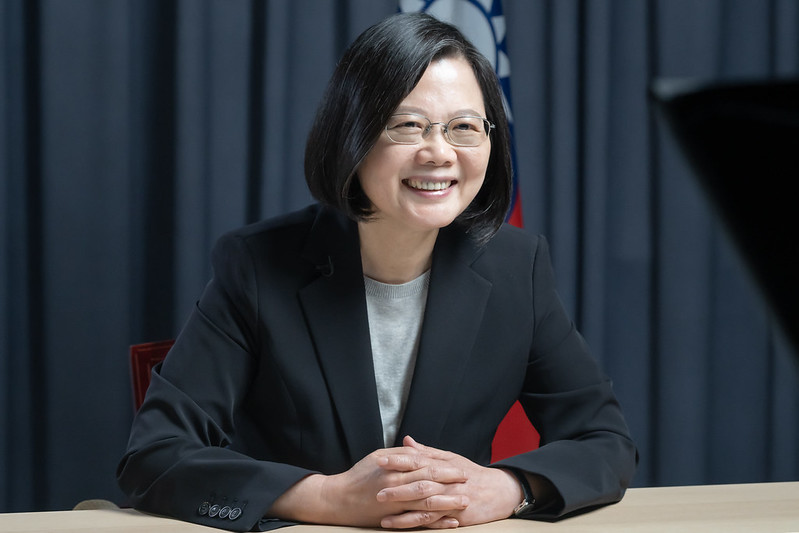 President Tsai receives the International Pioneer Award for Leadership from the American Legislative Exchange Council.