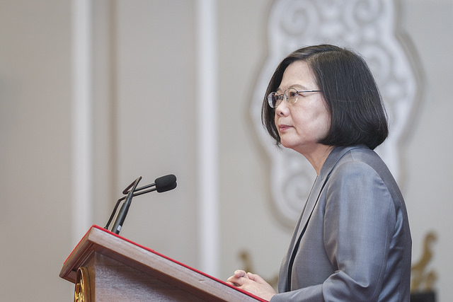 President Tsai issues a major statement on Taiwan's termination of diplomatic relations with El Salvador.