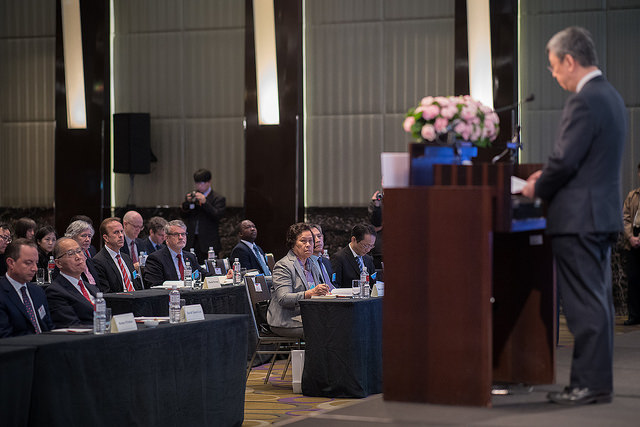 Vice President Chen attends the 2017 Taiwan-US-Japan Trilateral Security Dialogue.