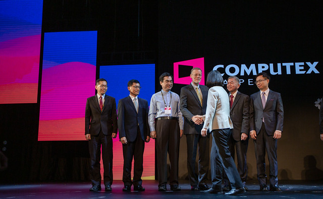 President Tsai Ing-wen attends the opening ceremony for COMPUTEX 2019.