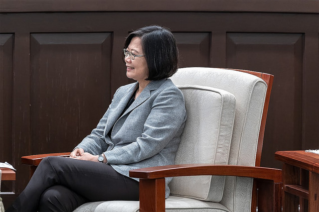 President Tsai meets with Citigroup CEO Michael Corbat.