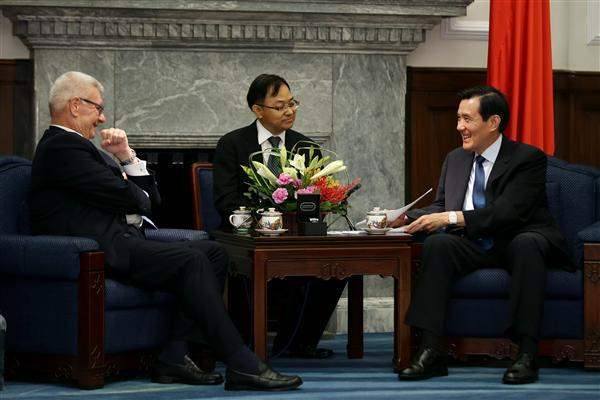 President Ma meets Italy-Taiwan Parliamentary Friendship Group Vice