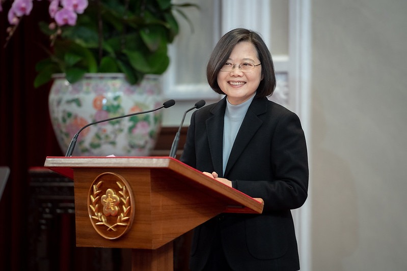 President Tsai delivers her 2020 New Year's Address.