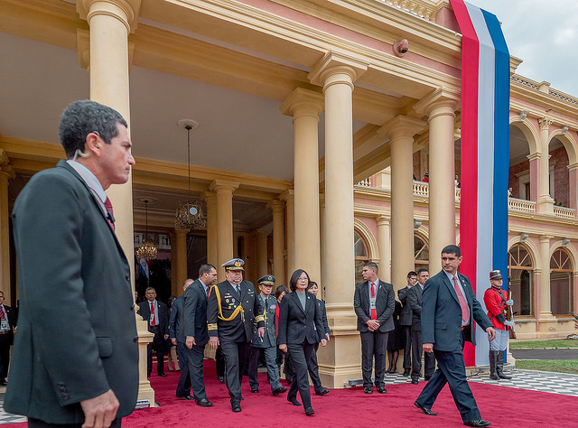 President Tsai attends activities after Paraguayan President Abdo's inauguration.