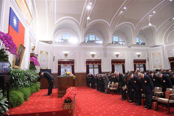 President Ma addresses on new year's day of 2013. (01)