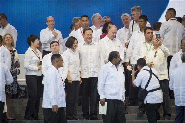 President Tsai attends the inauguration ceremony for the Panama Canal Expansion and interacts with other heads of state.