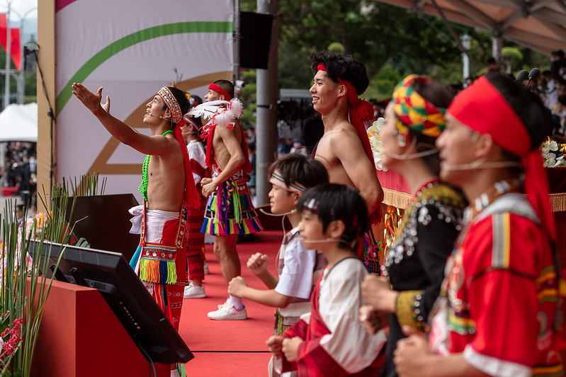 A performance by ShenAi, a group of indigenous singers.