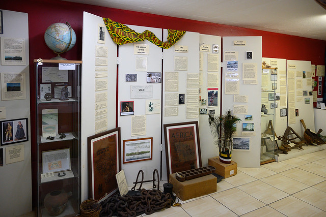 President Tsai visits the Museum of Nevis History and Hamilton House.