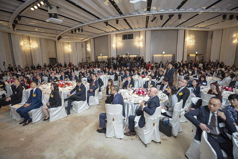 President Tsai attends the 2019 AmCham Taipei Annual General Meeting.