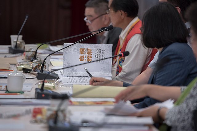 The president expresses hope that the second-term Indigenous Historical Justice and Transitional Justice Committee will inspire more positive dialogue and create more possibilities for greater mutual understanding.