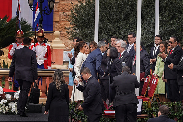 President Tsai attends the inauguration of Paraguayan president and vice president.