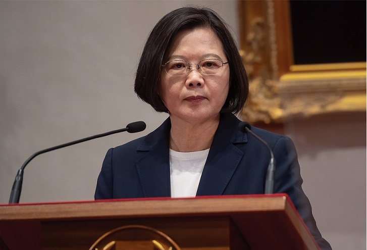 President Tsai Ing-wen issues a major statement on the termination of diplomatic relations with Solomon Islands.