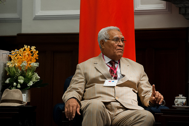 Speaker of the Parliament of Tuvalu Otinielu Tauteleimalae Tausi leads a delegation to Taiwan.