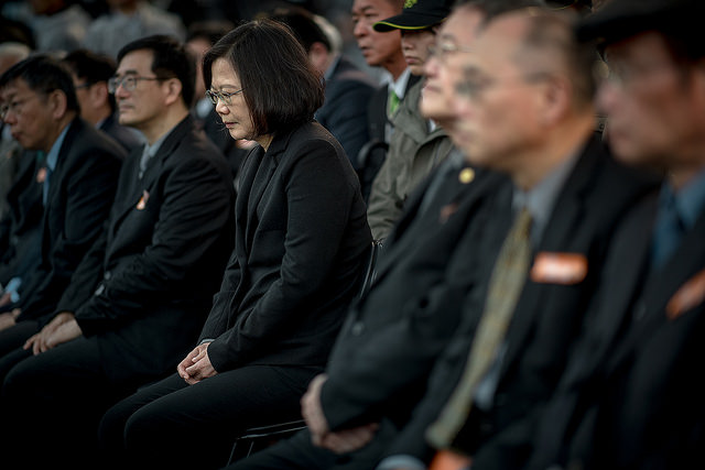 President Tsai attends the nation's main memorial ceremony to mark the 71st anniversary of the 228 Incident.