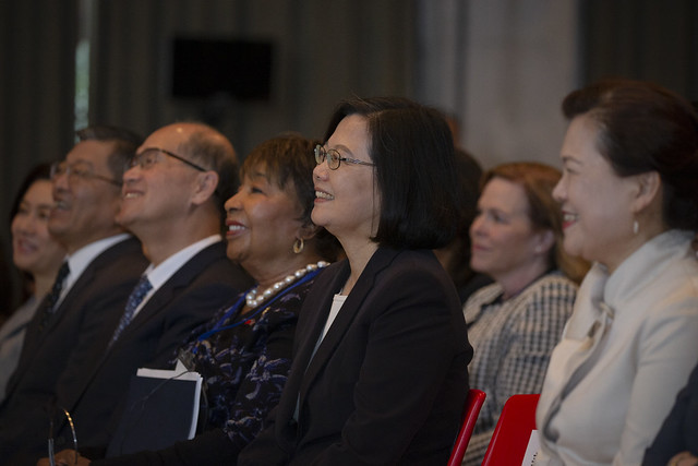 President Tsai attends the 2019 Women's Economic Empowerment Summit.