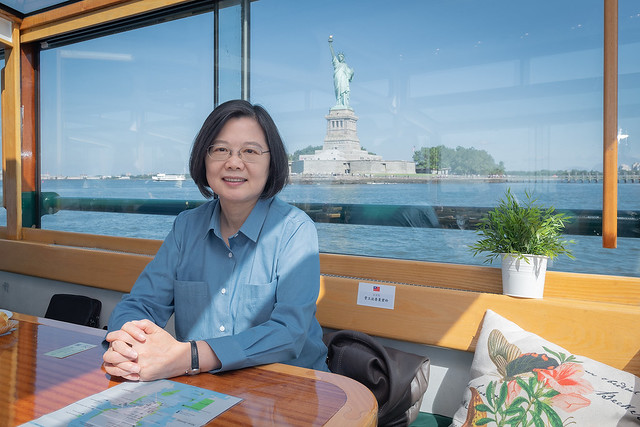 On her Journey of Freedom, Democracy, and Sustainability, President Tsai makes a stopover in New York.
