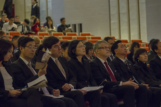President Tsai attends an event commemorating International Holocaust Remembrance Day.