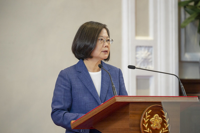 President Tsai announces that she will once again invite Dr. Morris Chang to act as her envoy to attend the 2019 APEC Leaders' Week.