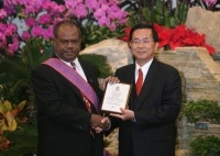 President Chen's Address at the State Banquet Held in Honor of the Prime Minister of the Solomon Islands.