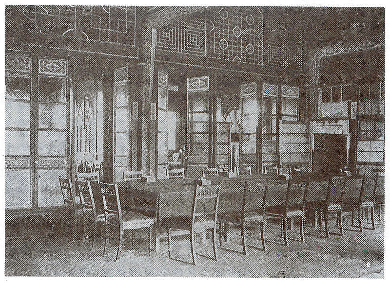 Office of the Logistics and Defense Bureau, which housed the old Office of the Governor-General (reprinted from Portraits of Taiwan‧臺灣寫真帖)