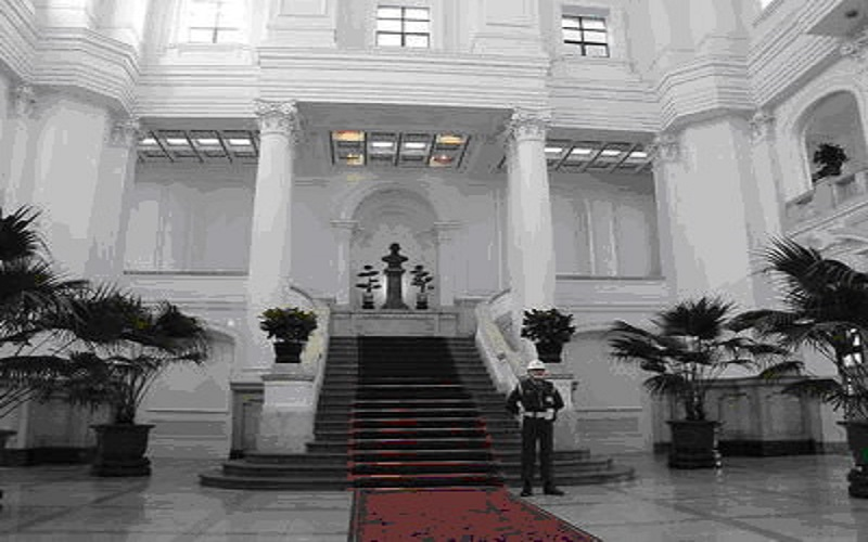 Entrance Hall today (courtesy of the office of Shiue Chyn)