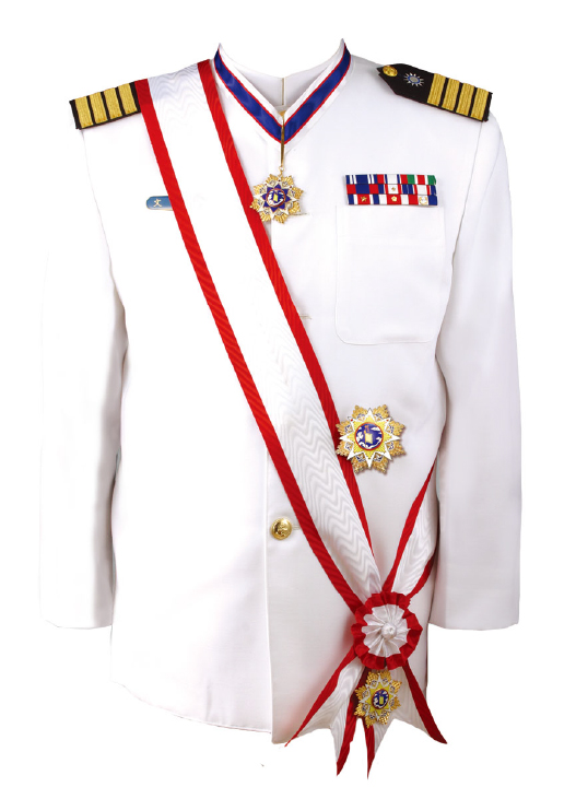 An Illustration of Wearing Military Orders